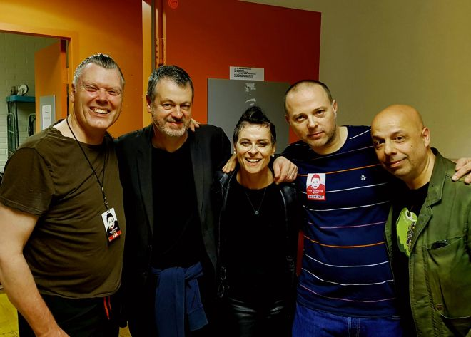 DJ Jorg Recordshack with Lisa Stansfield, Snowboy and the gang